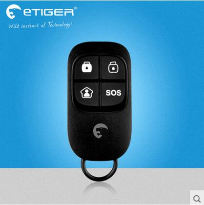 433Mhz Wireless remote controller for Etiger Alarm System S4 GSM alarm system and Chuango alarm host цена и фото