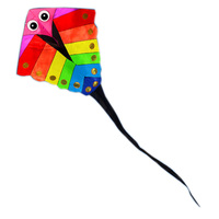 New High Quality Power Cartoon Kite /Fish With Handle and Line Factory Outlet Good Flying As Gift