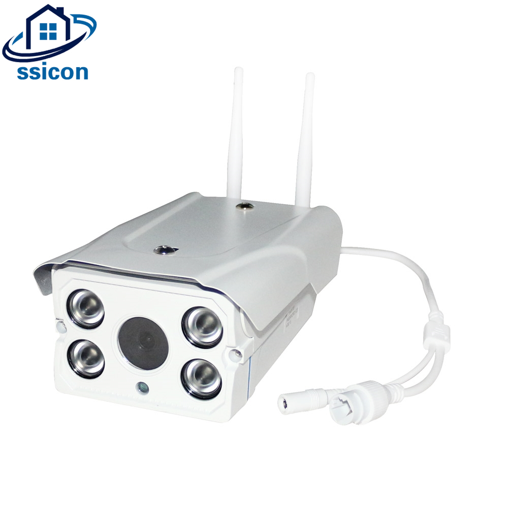 SSICON 720P Two Antenna Bullet Wireless YOOSEE CCTV Camera Waterproof Outdoor Wifi IP Camera With 4Pcs Array leds wistino cctv camera metal housing outdoor use waterproof bullet casing for ip camera hot sale white color cover case