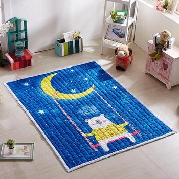55560b9d1 De dibujos animados bebé estera del juego de los niños de calidad jugar  alfombras espesar bebé arrastrándose alfombras bebé gateando rompecabezas  alfombra ...