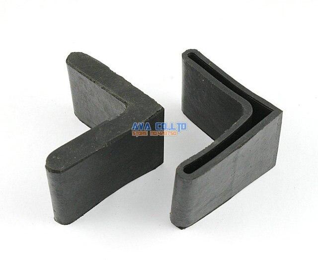 12 Stücke 50x50mm L Form Möbel Füße Gummi Abdeckung Winkel Füße Pad ...
