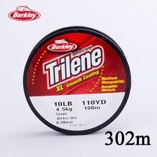 Berkley Trilene XL 330yd/301m Nylon Carp Fishing Lines Low-vis Green Lures Fishing Accessories Pesca Peche  4/6/8/10/12/14/17LB