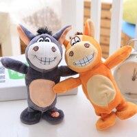 Intelligent Donkey Intelligent Smart Donkey Toy Recording Walking Plush Speaking Singing Donkey Doll