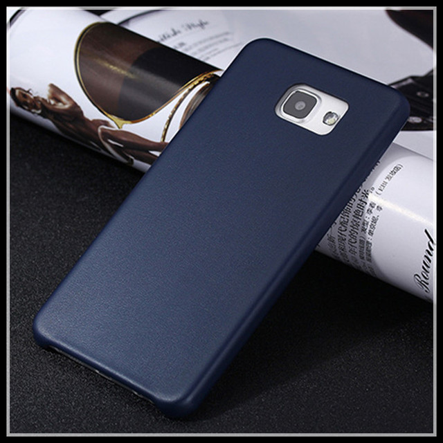 new product 7eaa1 d25f7 US $7.9 |Mobile phone bag for samsung a710f galaxy a7 2016 a76 protective  case cvover luxury phone case pu leather back housing with film on ...
