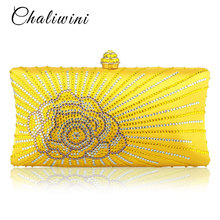f88b4f3c45 Wholesale Flap Crystal Floral Women Evening Clutch Bag India Toiletry Bag  Wallet Designer Lady Bags 2018