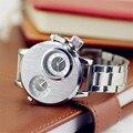Irisshine i0727 presente Relógio de alta qualidade marca de luxo unisex relógio casal mulheres Homens Moda 2 Esportes Movimento Grande Relógio de Marcação