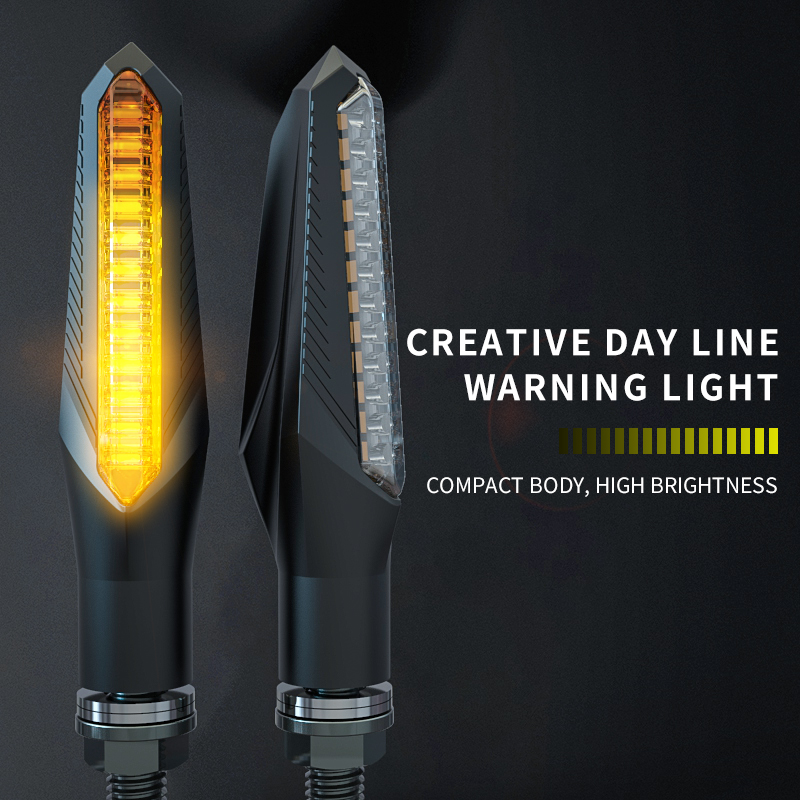 Motorcycle Light Accessories CB190 High Brightness LED Turn Signal Motorbike 150NK 12V Warning Light Flow Indicator Spirit Beast