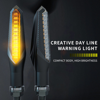 Motorcycle Light Accessories CB190 High Brightness LED Turn Signal Motorbike 150NK 12V Warning Light Flow Indicator