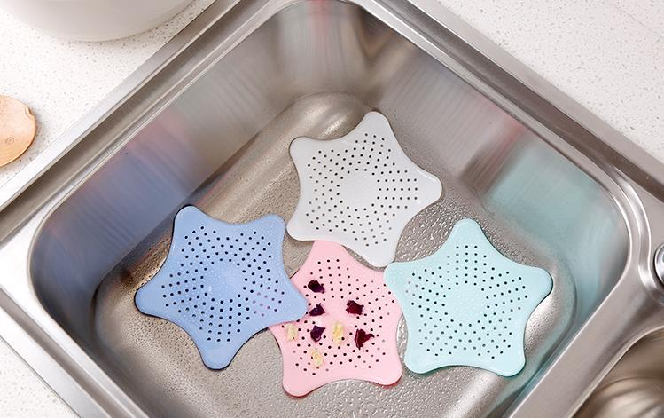 Kitchen Silicone Drains Sink Strainers Filter Sewer Drain Hair Colander Bathroom Cleaning Tool Kitchen Sink Accessories Gadgets