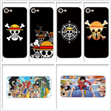 цена One Piece Monkey D lUFFY Customized soft case For iPhone 7plus 8plus 7 8 X XS max XR 5 5S 6 plus 6s plus silicone phone cover