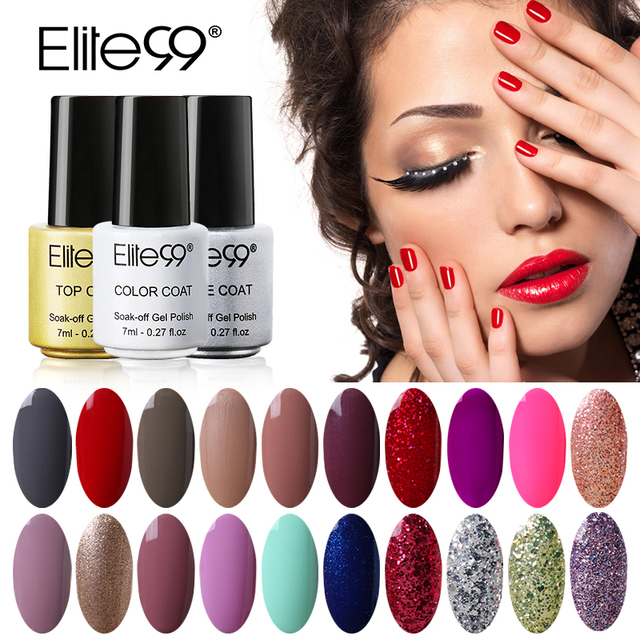 Elite99 Nail Gel for Nail Art Full Set UV Gel Kit Manicure Colorful Gel Lacquer Special Offer Gel Nail Polish Choose 1 from 58
