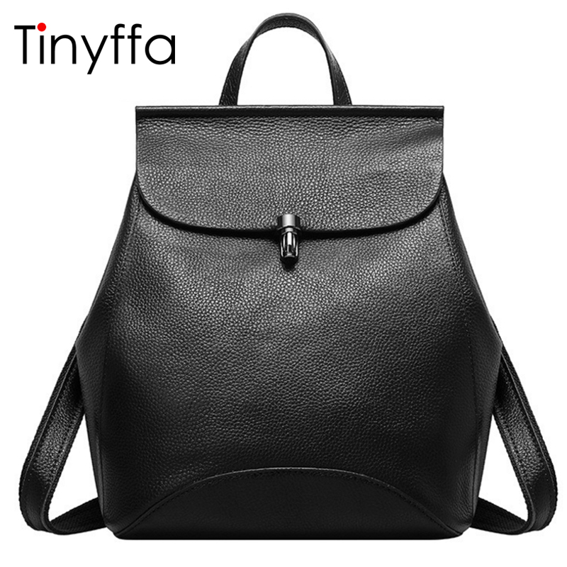 Tinyffa Small Multifunction Genuine Leather Backpack Women Back Pack Girl School Bag Famous Brand Designer Black Bagpack 2017 tinyffa small multifunction genuine leather backpack women back pack girl school bag famous brand designer black bagpack 2017