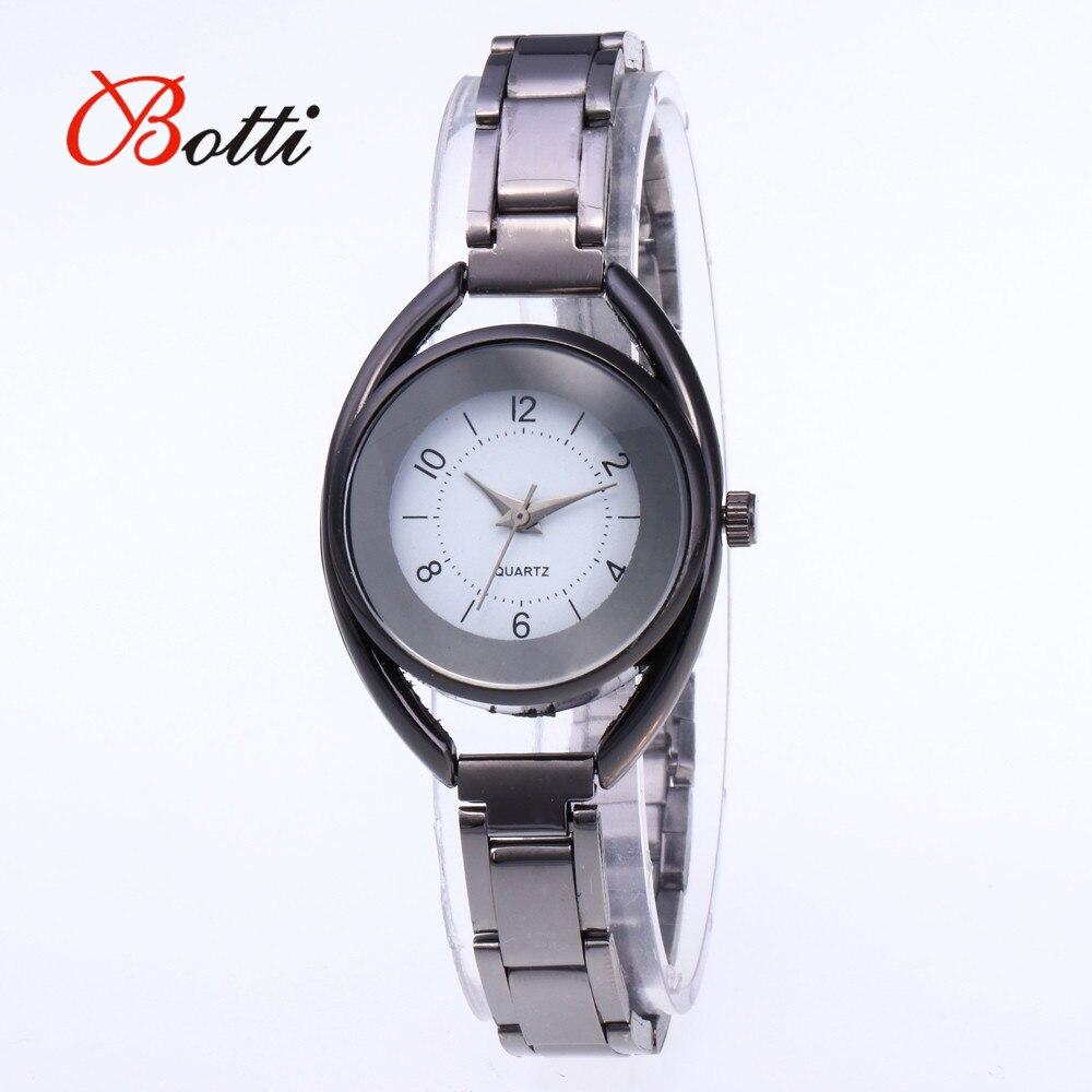 Women's Watches 2018 Brand Luxury Stainless Steel Ladies Watch Quartz Women Watch Black Ladies Clocks Wristwatch bayan kol saati