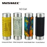 100 Original WISMEC Reuleaux RX Machina 20700 Mech MOD No Battery With Resin PEI SS Materials