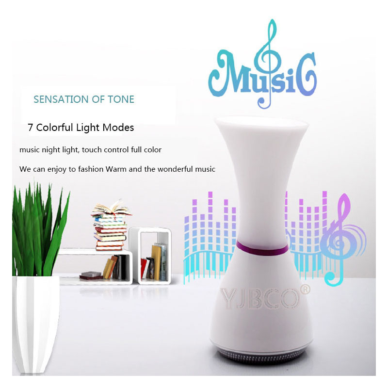 Music LED colorful atmosphere night light creative with TF card  multi-functional decorative reading lamp for Student's gift colorful waterdrop cartoon ombre led night light