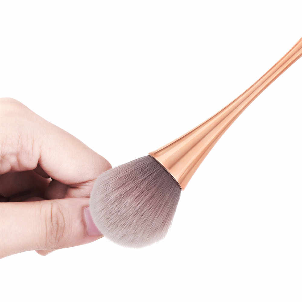 新加入メイクアップ大ソフト美容パウダー合成毛美容化粧品ビッグ赤面炎ファンデーション化粧品ツール