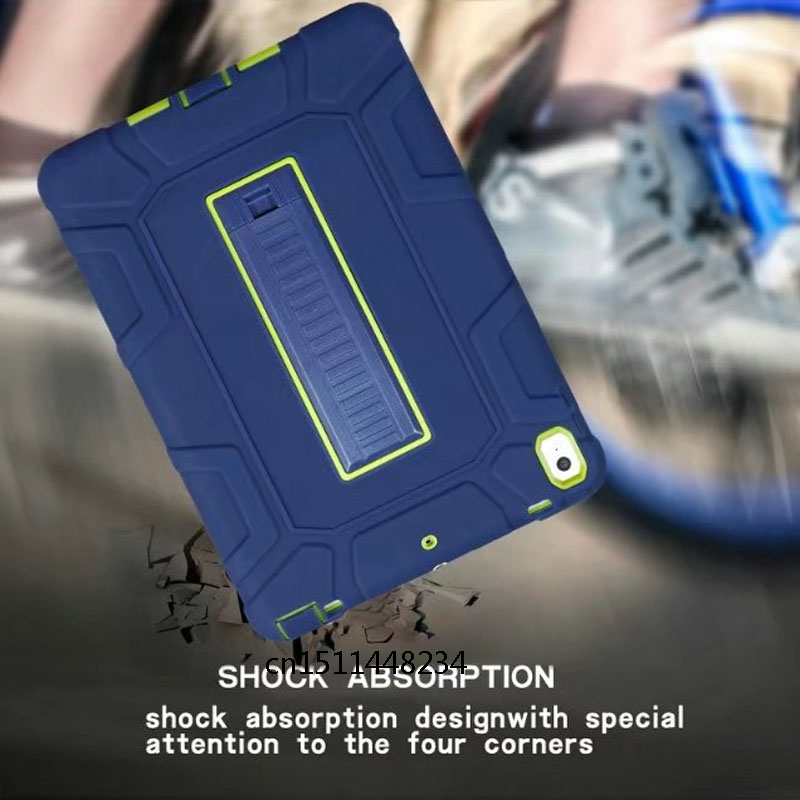 Case For iPad Pro 10 5 Kids Safe Shockproof Heavy Duty Silicone Hard Cover kickstand design