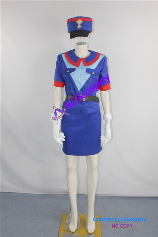 Pokemon Officer Jenny Cosplay Costume ACGcosplay include hat