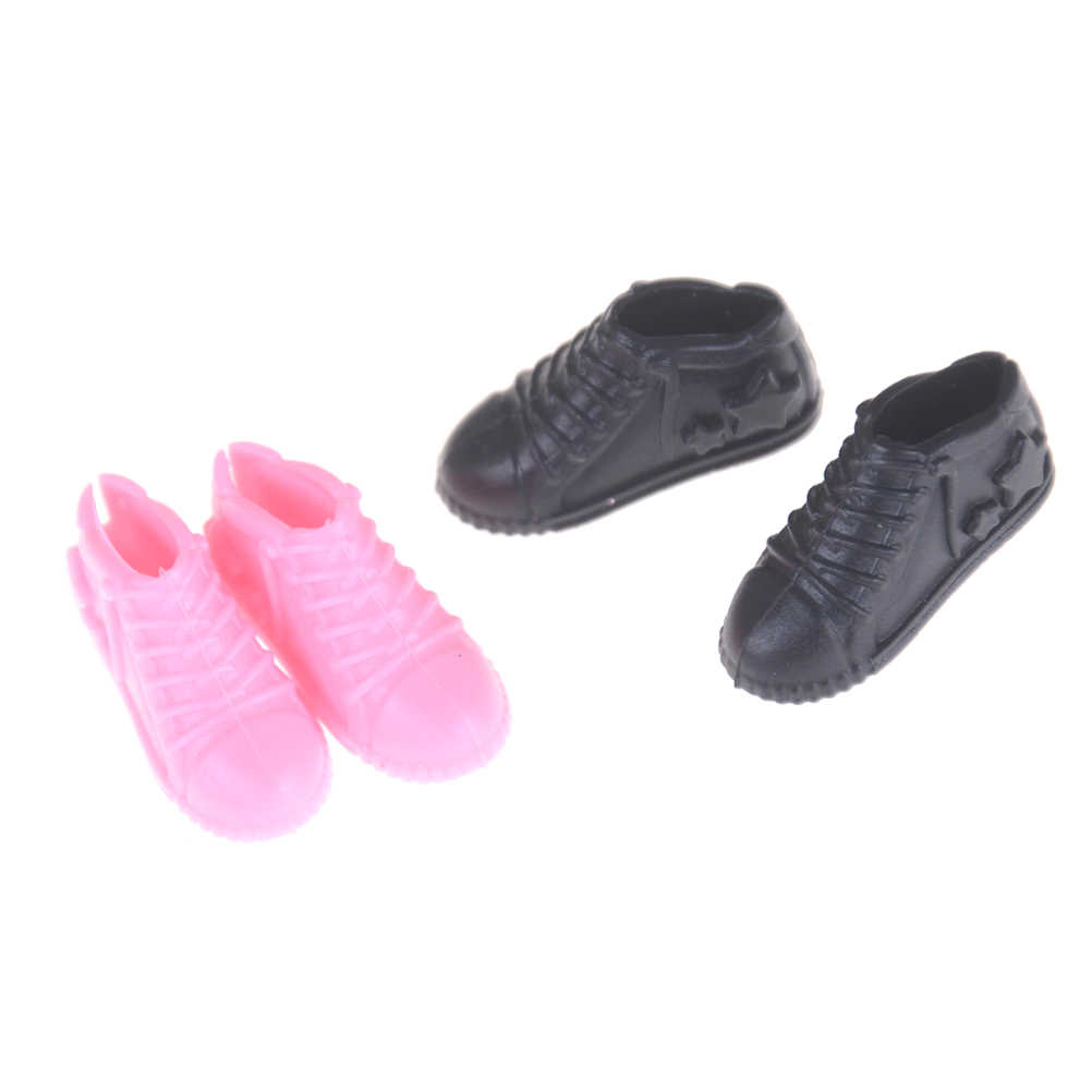4Pair Doll Shoes For Girls Ken Boyfriend Male Doll Shoes Gifts For Sharon Doll Boots Dolls Sneackers  Accessories