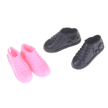 4Pair Doll Shoes For Girls Ken Boyfriend Male Doll Shoes Gifts For Sharon Doll Boots Dolls Sneackers Accessories(China)