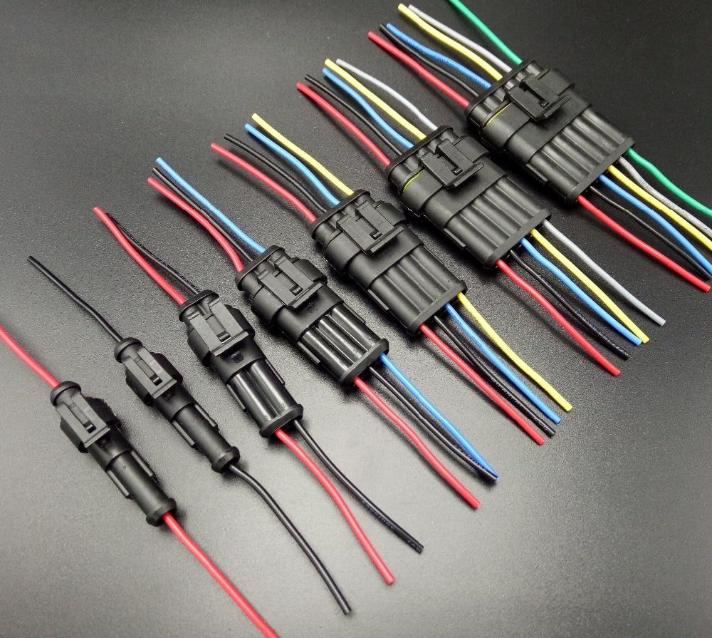 Auto wire connector 1 2 3 4 5 6 Way 1P 2P 3P 4P 5P auto connector ...