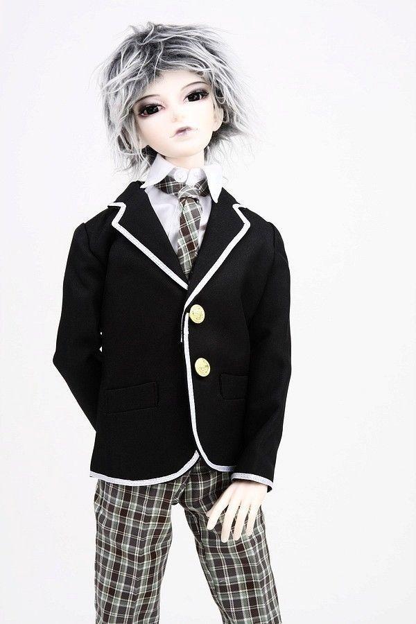 [wamami] 300# Boy School Uniform/Suit/Outfit SD17 DZ70 BJD Dollfie seitokai no ichizon cosplay school boy uniform h008