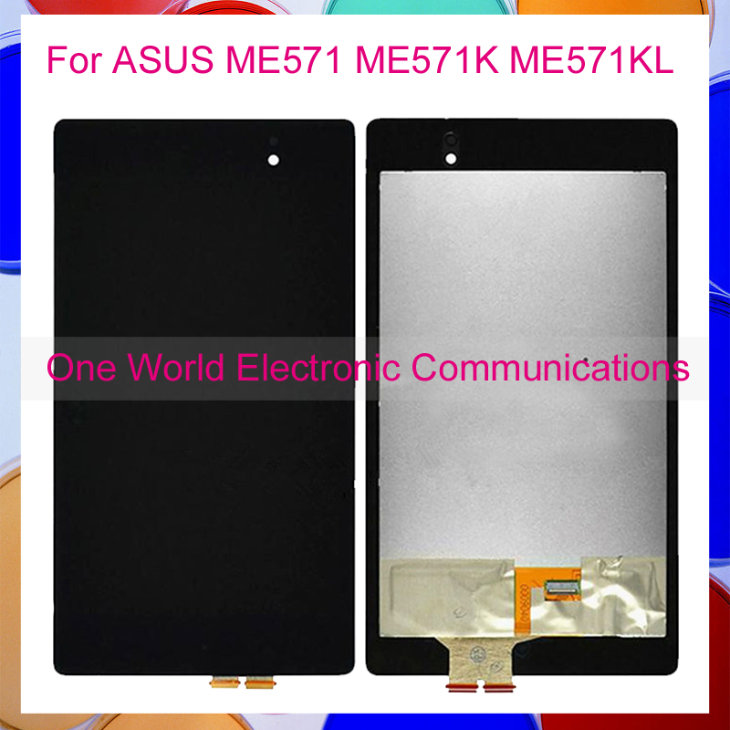 ФОТО For ASUS Google Nexus 7 2nd ME571 ME571K ME571KL 2013 LCD Display + Touch Panel Screen Digitizer Glass Assembly Tracking Code