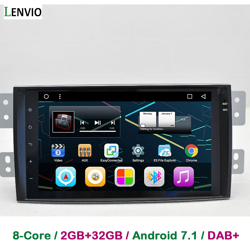Lenvio 9IPS 2GB RAM Octa Core Android 7.1 CAR DVD GPS Navigation For KIA Borrego Mohave 2008 2009 2010 2011 2012 2013 2014 2015
