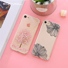 Eqvvol Fashion Cherry Pattern Phone Case For Apple iPhone X 8 7 6 6s Plus Soft TPU Silicone Cases For iPhone 5 5s SE Cover Shell
