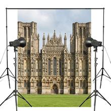 150x210cm Wells Cathedral Photo Background London Architecture Backdrop European theme Photography Studio