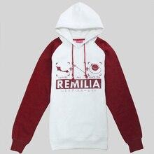 New anime Touhou Project Remilia Scarlet cosplay costume hoody sweatshirt casual hoodies jacket coat for men women