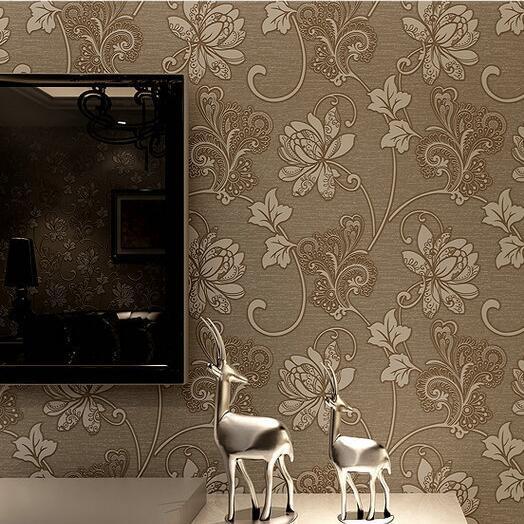 Итальянский Стиль Современный 3D тиснением Задний план обои для Гостиная серебро и серый Полосатый обоев рабочего стола