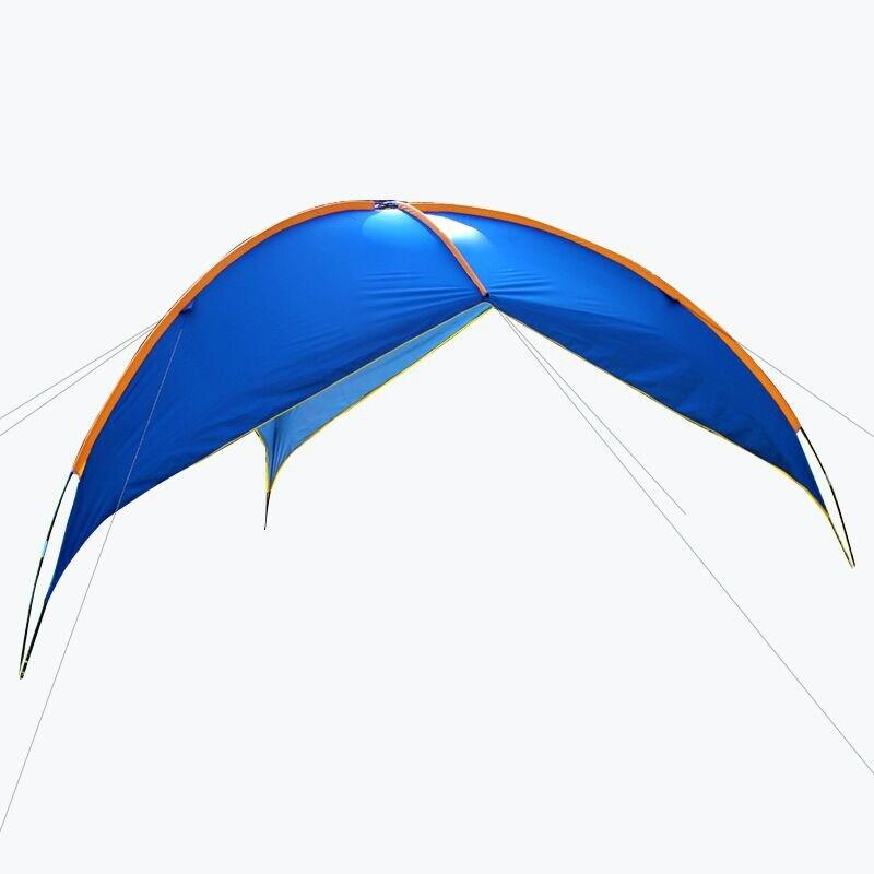 Auvent triangulaire ciel extérieur augmenter auvent en tissu tente de camping multi-personnes famille plage auvent pergola FC0061