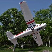 سيسنا fjw182 1200 مللي متر الجناح EPO المدرب المبتدئين RC طائرة عدة ل RC نماذج التحكم عن بعد اللعب