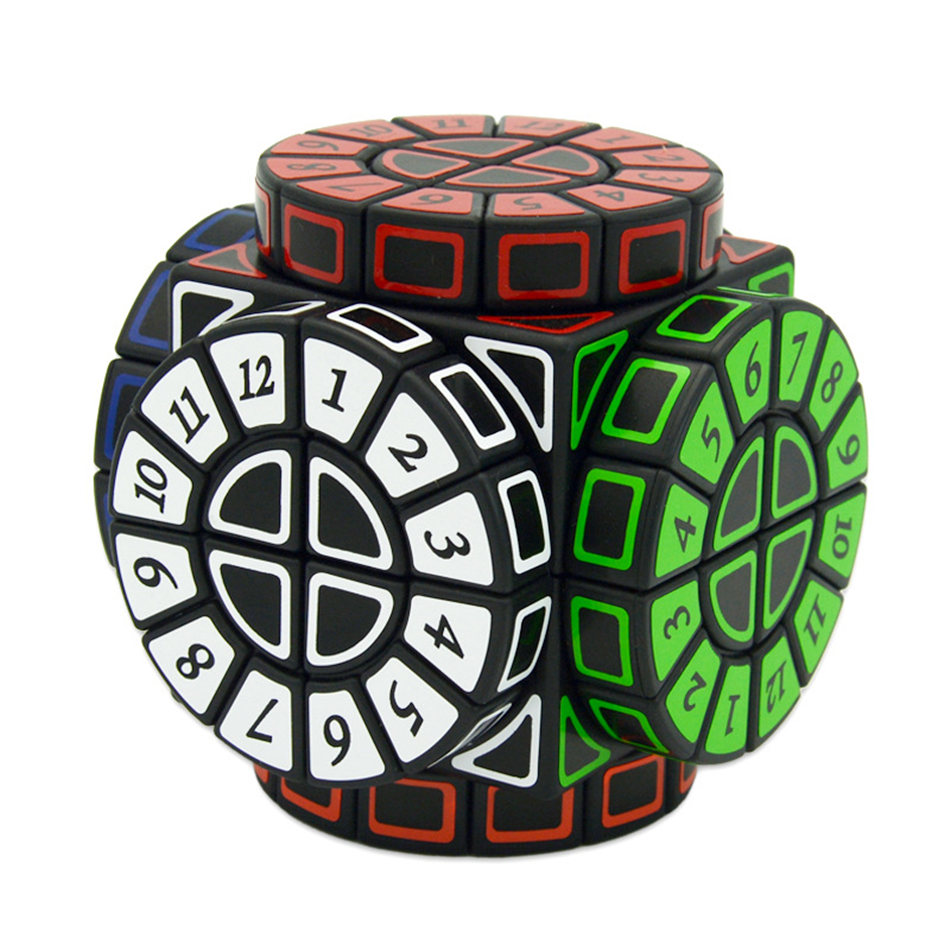 Time Machine Cube Digital Pointer Time Machine Magic Cube Profissional Puzzle Toys For Children Kids Gift Toy