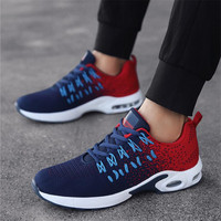QIAOJINGREN Men's Casual Shoes Sneakers Summer Mesh Breathable Comfortable Men Shoes Loafers footwears Slipon Walking Big