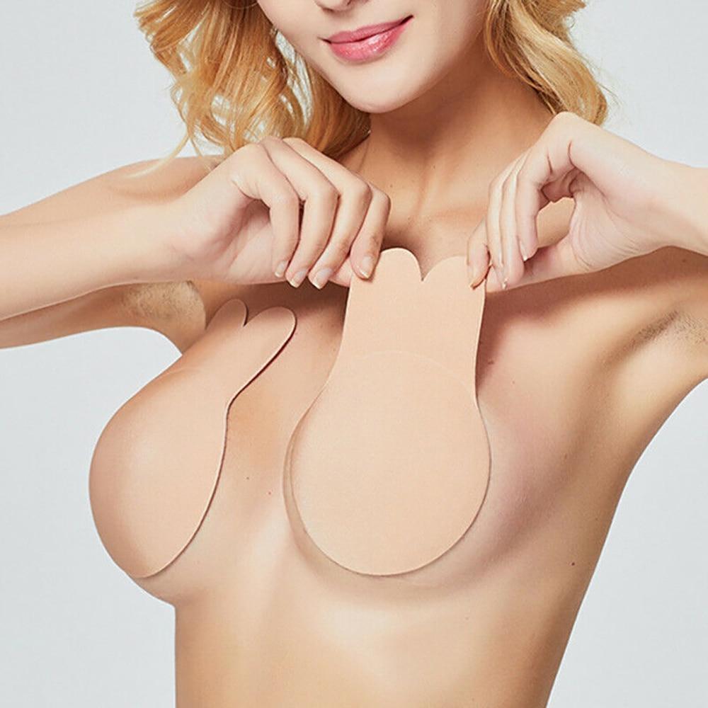 HTB1ZqNjXlr0gK0jSZFnq6zRRXXaU 2pcs Bikini Swimwear Women Bra Pads Self Adhesive Silicone Lift Up Chest Sticker Swimsuit Nipple Cover Bikinis 2019 biquini