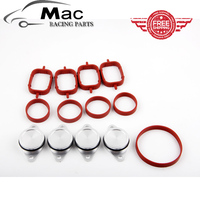 Cheapshipping 4 X 33mm OEM Design By Aluminum For BMW Swirl Flap Blanking Plates Seals With