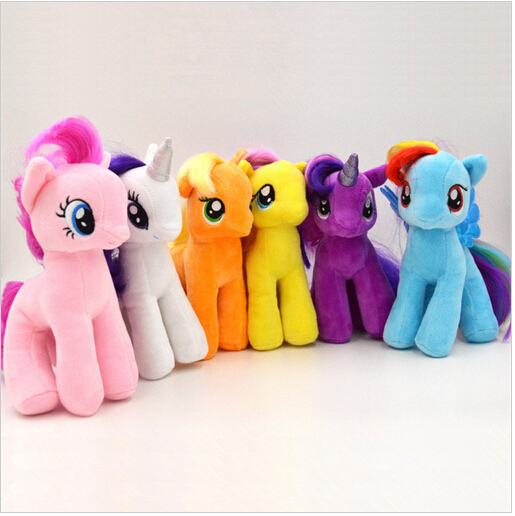 19cm High Quality Lovely Horse Plush Doll For Poni Unicorn Horse Toys For Children Kids Birthday Christmas Gifts