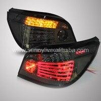 Для E60 520i 523i 525i 528i 530i светодиодные задние свет для BMW дым черный
