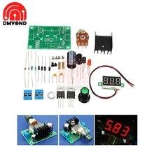 LM317 Adjustable Voltage Regulator Power Board kit Production Electronic DIY Kit