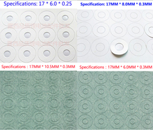 100pcs  18650 lithium battery anode insulating gasket ring series of hollow pad