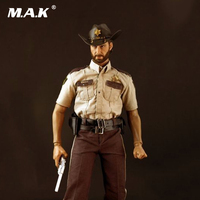 DS02 1/6 Scale Walking Dead Man Zombie Police Collectible Action Figure Doll Toys Gift