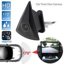 Auto Vista Frontale Della Macchina Fotografica per VW/Volkswagen/GOLF/Jetta/Touareg/Passat/Polo/Tiguan visione Notturna di HD 170 Ampio Grado di Auto fotocamera frontale