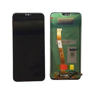 Image 2 - Testé 5.84 pour Huawei honour 10 honour 10 écran LCD + écran tactile numériseur assemblée remplacement + empreinte digitale COL L29