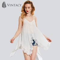 Vintacy 2017 Tank Tops Tassel Summer Women Sexy Tops White O Round Neck Sleeveless Bead Casual