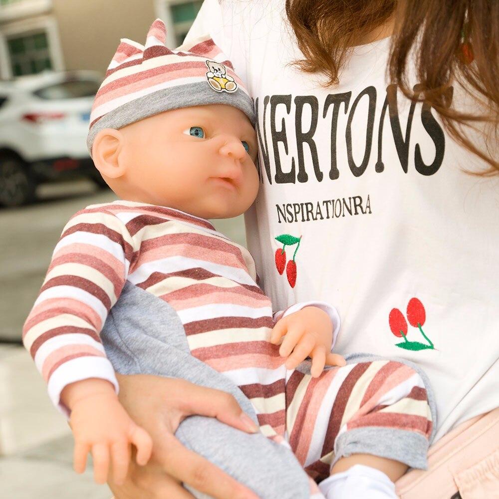 Ivita 21inch/4.9kg Girl High Quality Silicone Reborn Dolls Baby Born Full Body Alive Bath Doll XMAS Gift 4