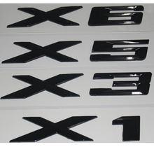 Глянцевый черный abs цифры буквы слова Автомобильный багажник