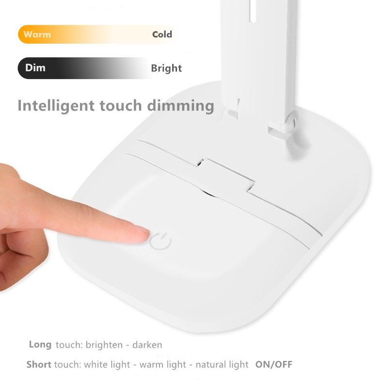 Intelligent touch dimming table light 800