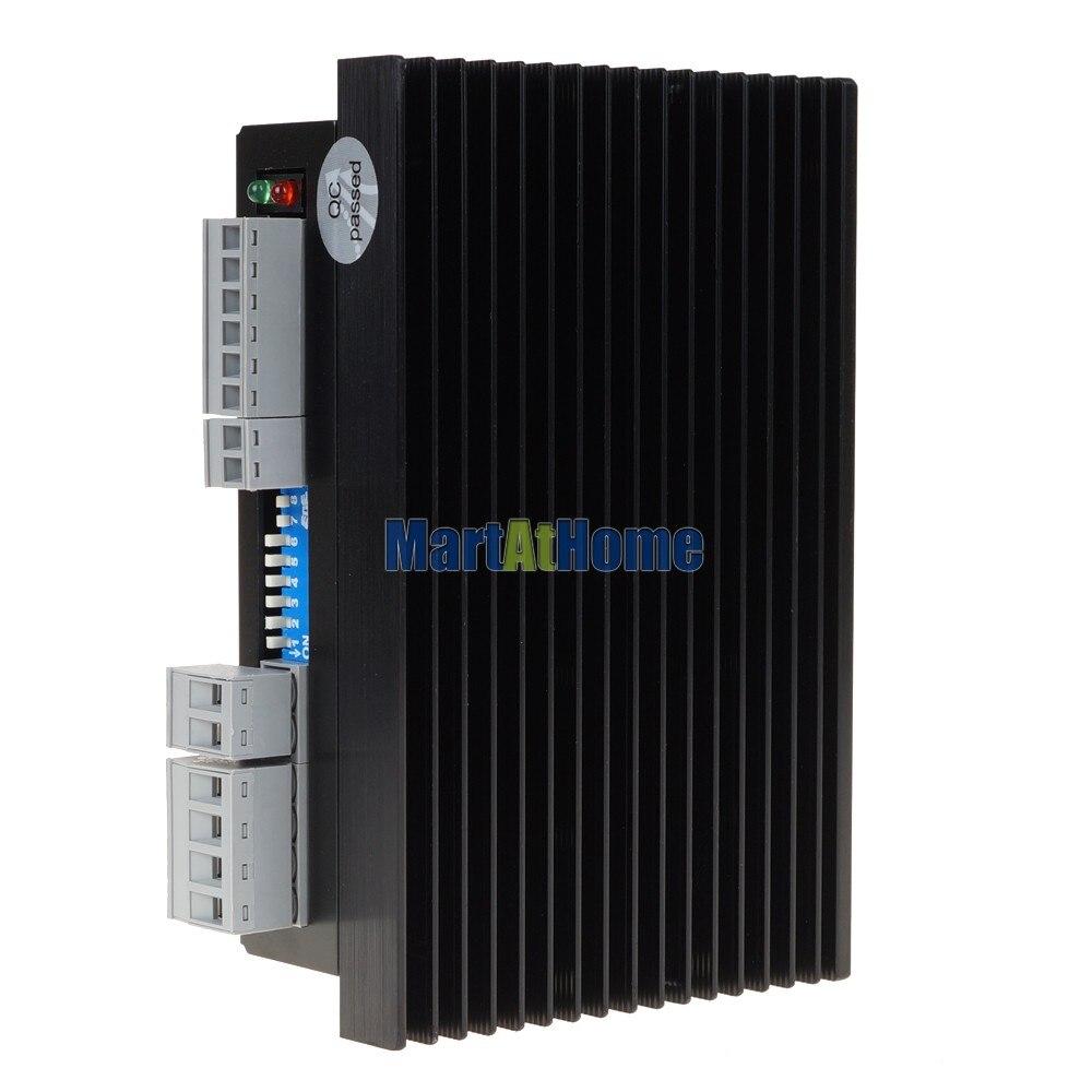 Leadshine DM556S 2-фазный шаговый драйвер DSP Макс. 200 кГц/24 V/Е-байка 36В DC может управлять 4/6/8-фазный шаговый двигатель# SM019@ SD